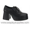 JAZZ-02 Black Faux Leather